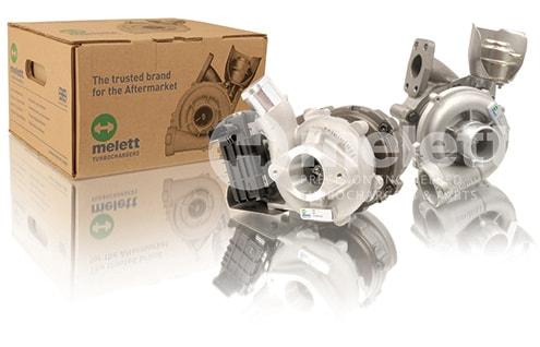 Complete Melett turbocharger