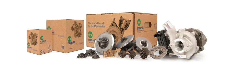 Melett product range - turbo and components
