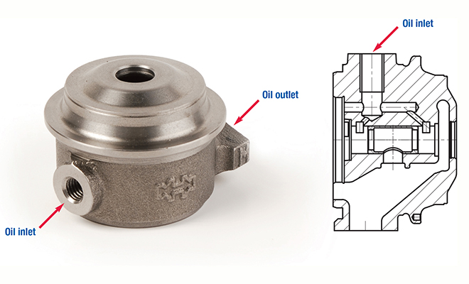Air Cooled Bearing Housing