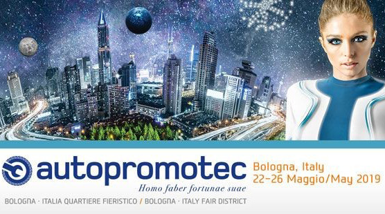 Are you visiting Autopromotec, Bologna, 22nd - 26th May 2019?