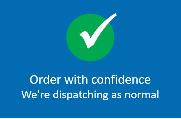 Commandez avec confiance-nous expédions comme de normal!