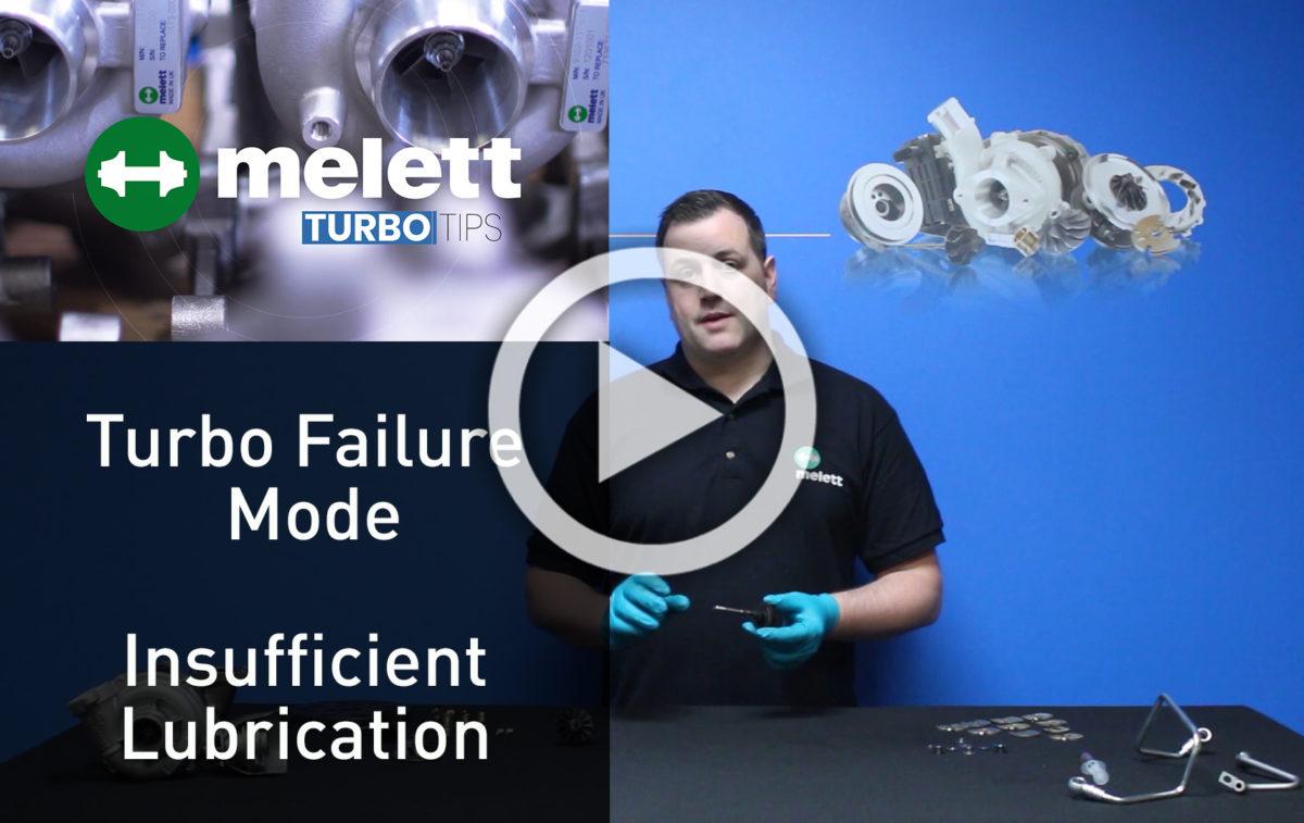 Comment une lubrification insuffisante cause une panne de turbo ? ?